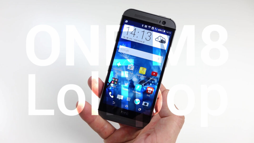 htc one m8 android 5 0 lollipop im video vergleich zu. Black Bedroom Furniture Sets. Home Design Ideas