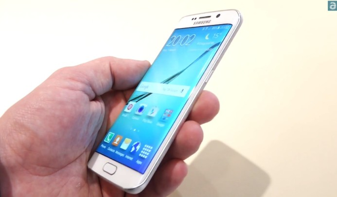 Galaxy S6 Edge hands on 1