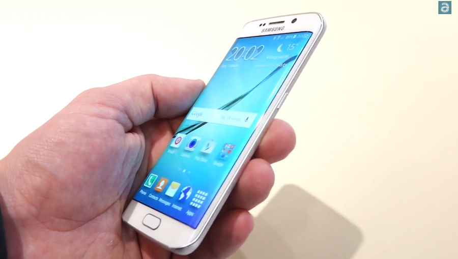Hands-on zum Samsung Galaxy S6 Edge