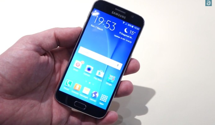 Galaxy S6 Hands on 12