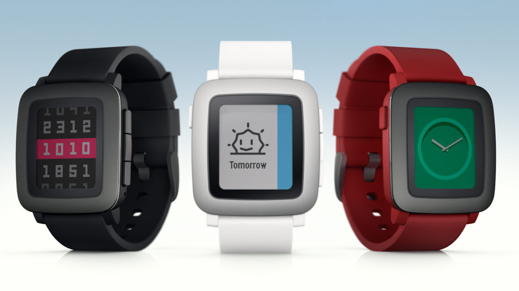 Firmware-Update für Pebble Time und Time Steel