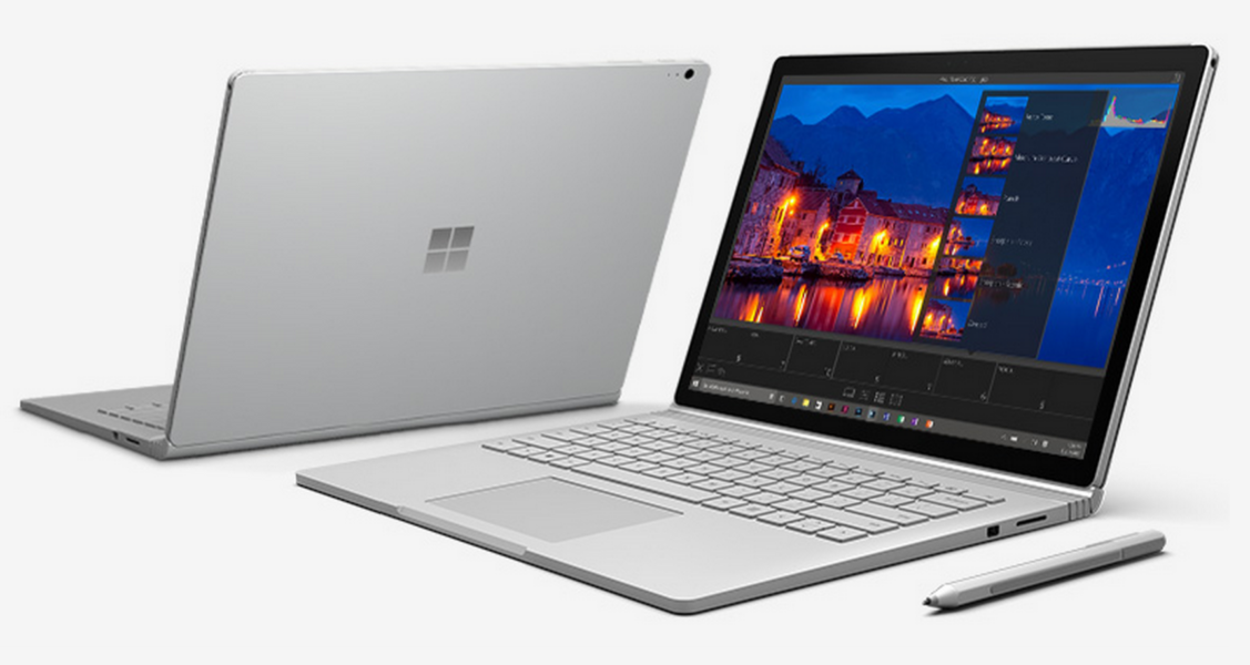 Micosoft Surface Book – Laptop mit abnehmbaren Tablet
