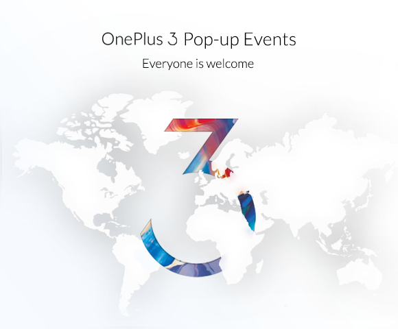 Oneplus 3 – Popup Event zum Start in Berlin