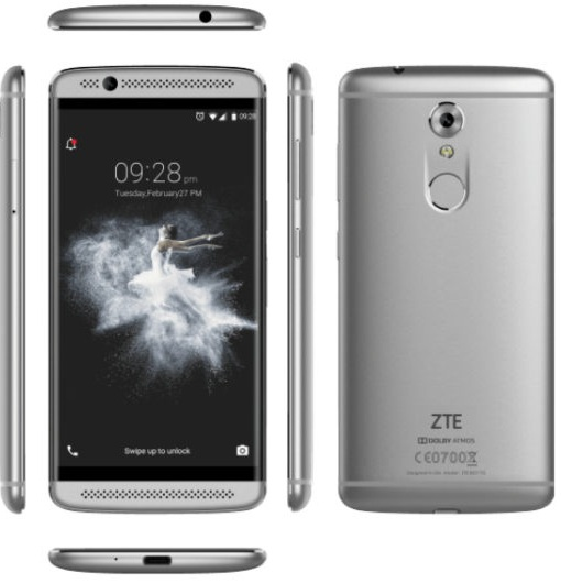 Video:  ZTE Axon 7 mini im Unboxing