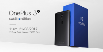 OnePlus 3T – exklusive Colette-Sonderedition in Kleinstauflage