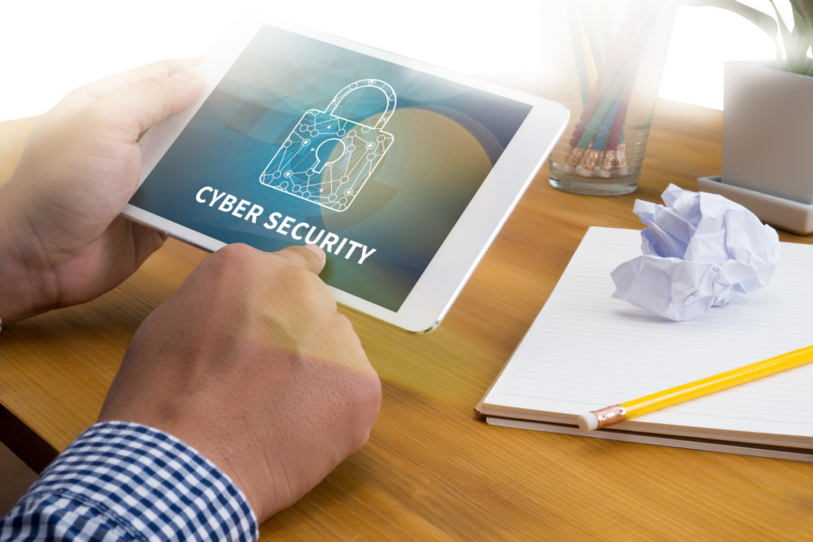 CYBER SECURITY Business, technology, internet and networking con