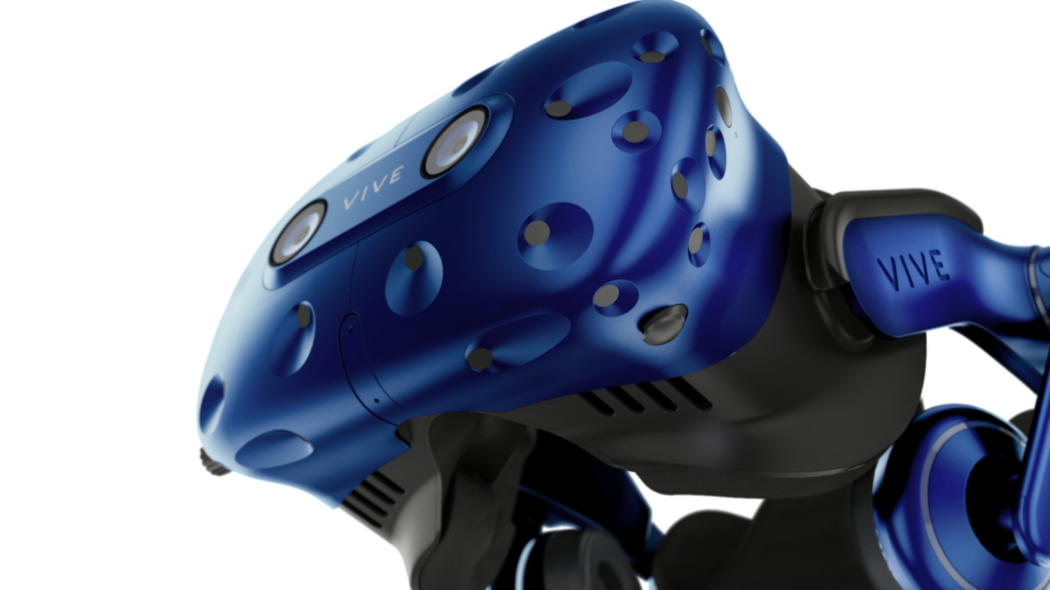 Copy of Vive Pro Up Close Lower Angle