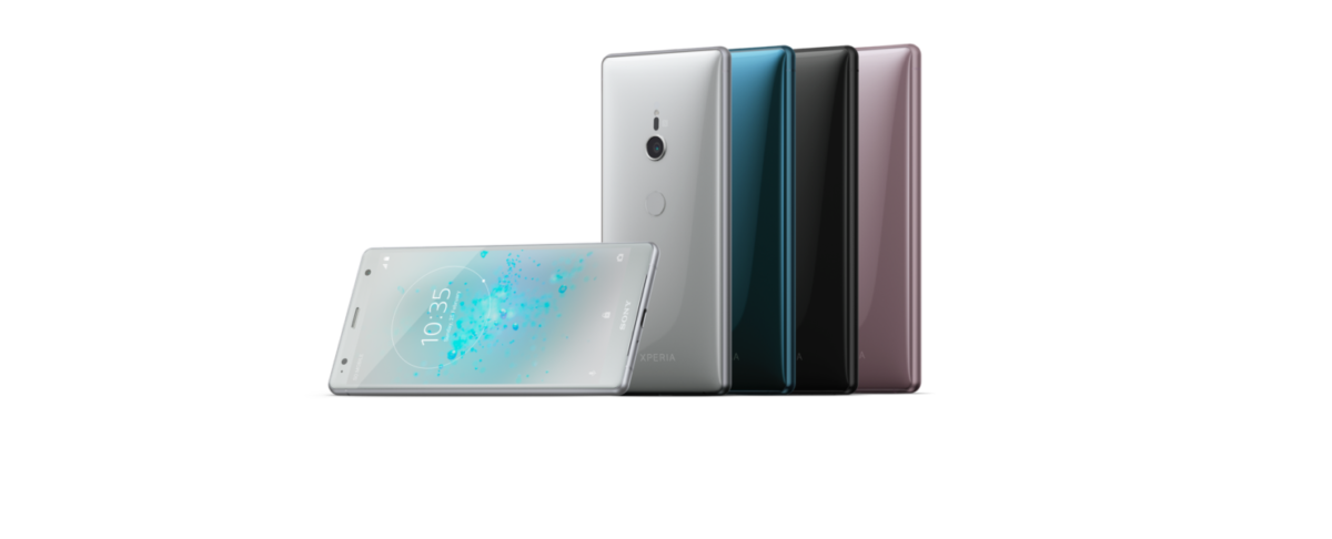 sony stellt 2 neue smartphones vor xperia xz2 mit 19. Black Bedroom Furniture Sets. Home Design Ideas