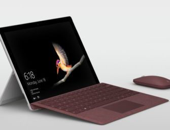 Surface Go – das billigste Surface-Tablet kommt in die Läden