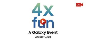 Samsung: Der Livestream zum Galaxy Event am 11.10.2018